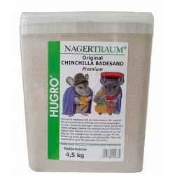 HUGRO Chinchilla Badesand 4,5 kg