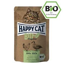 Happy Cat Bio Huhn+Ente 85g