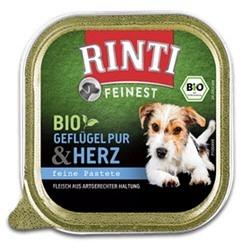 Rinti Feinest BIO Geflügel Pur+Herz 150g