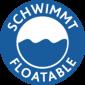 schwimmt